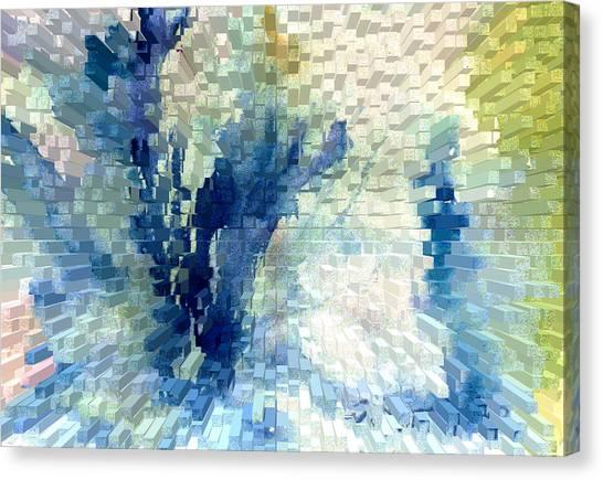 Extrude Canvas Print