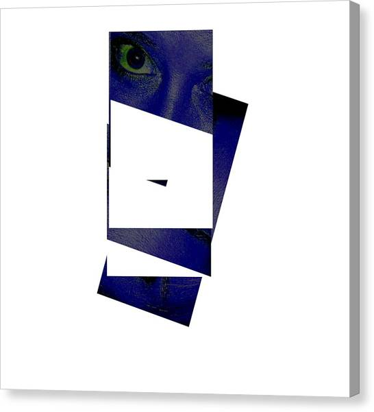 Eye Abstract Canvas Print by Debbie May