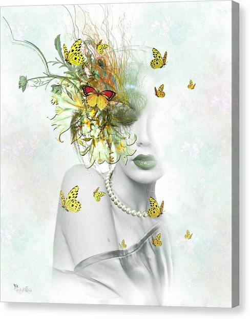 Eyes Of Beauty Canvas Print