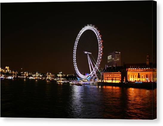 London Eye Canvas Print - Eye# by MGhany