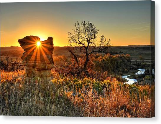 Eye Of The Monolith Canvas Print
