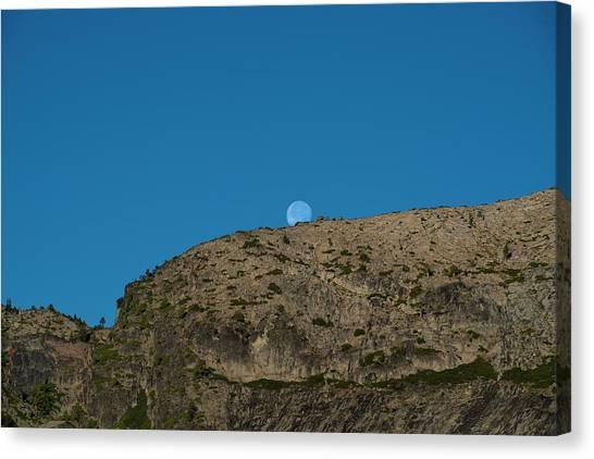 Eye Of The Mountain Canvas Print