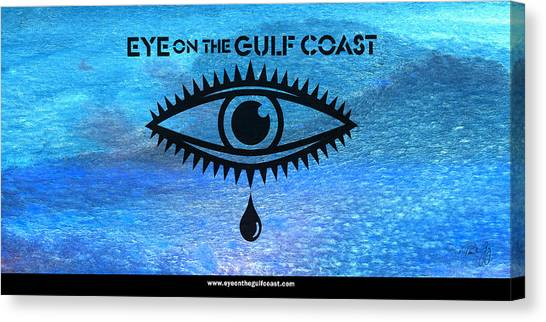 Eye On The Gulf Coast Canvas Print