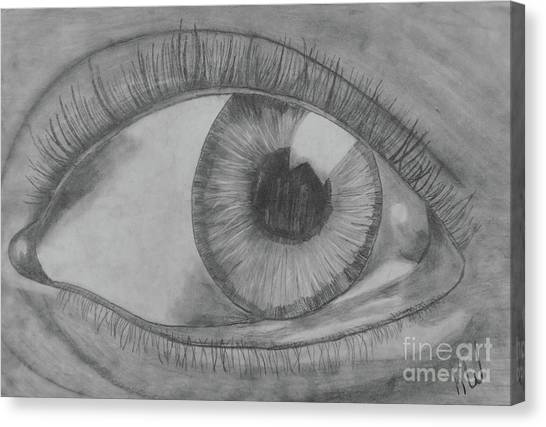 Fineart Canvas Print - Eye See You by Karlie White