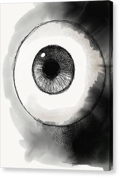 Eyeball Canvas Print