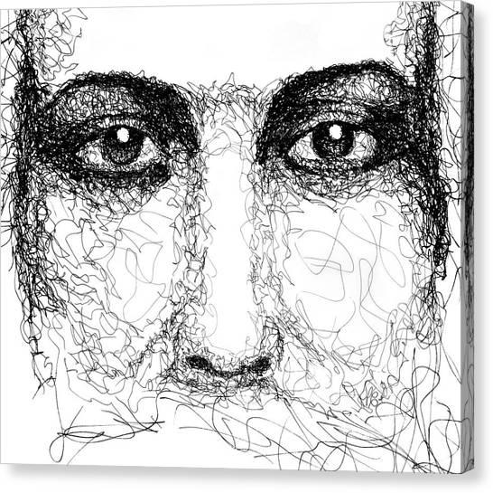 The Eyes Of Jesus Canvas Print