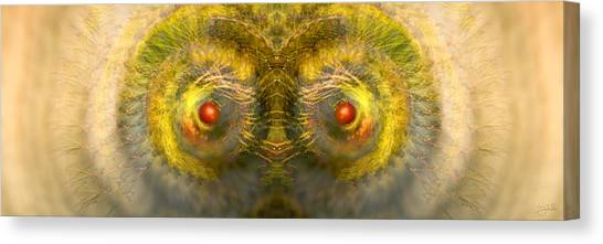 Eyes Of The Garden-1 Canvas Print
