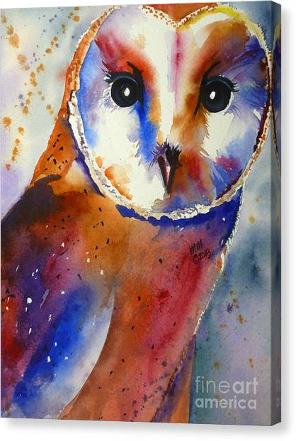 Eyes Of The Guardian Canvas Print