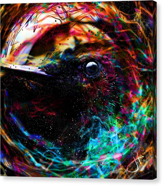 Eyes Of The World Canvas Print