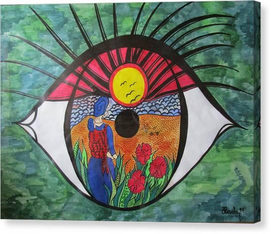 Eyewitness Canvas Print