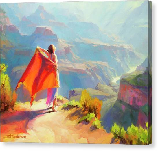 Grand Canyon Canvas Print - Eyrie by Steve Henderson