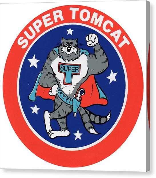 F-14 Super Tomcat Canvas Print