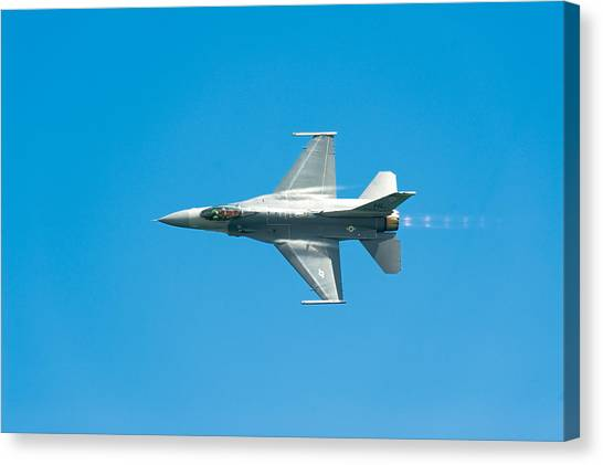 F16 Canvas Print - F-16 Full Speed by Sebastian Musial