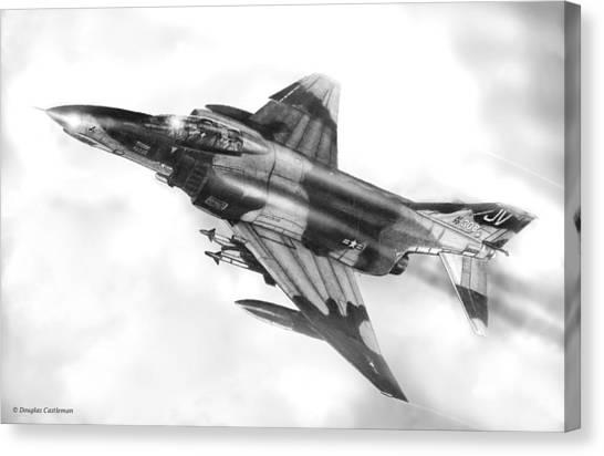 F-4e Phantom II Canvas Print