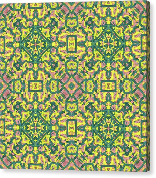 F R I - Multi Pattern Canvas Print