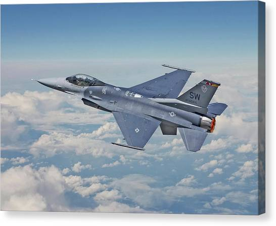 F16 Canvas Print - F16 - Fighting Falcon by Pat Speirs