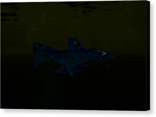 F4 At The Ninety Canvas Print