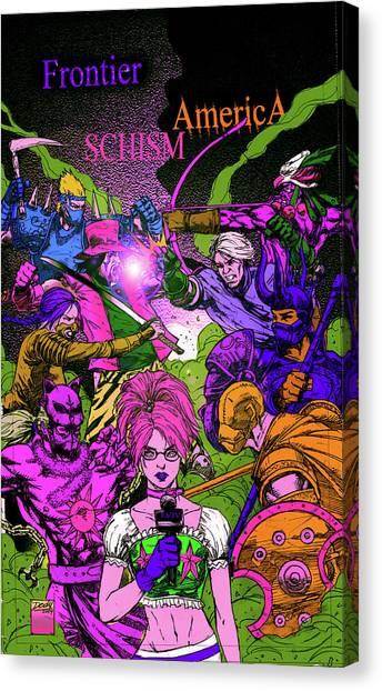 Canvas Print - Fa Schism Zombie by Dan Sheldon