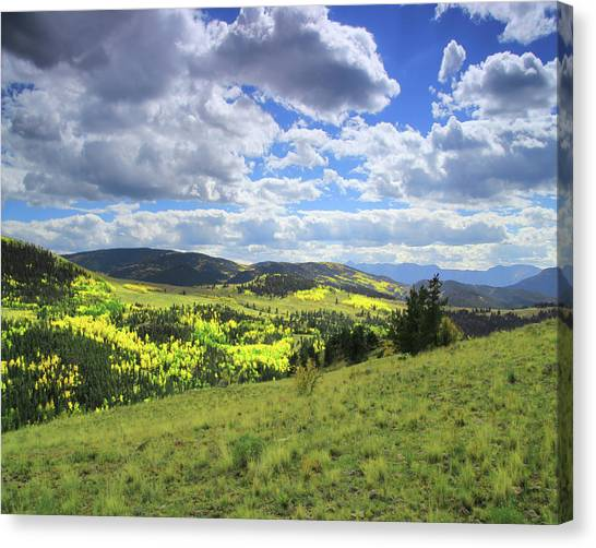 Faafallscene103 Canvas Print