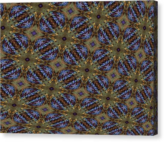 Fabric Fantacy Canvas Print by Ricky Kendall