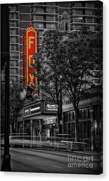 Fabulous Fox Theater Canvas Print