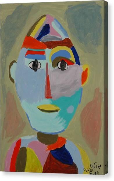 Face Canvas Print by Harris Gulko