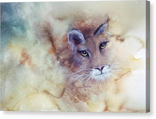 Face With In Canvas Print by Lynne Parker