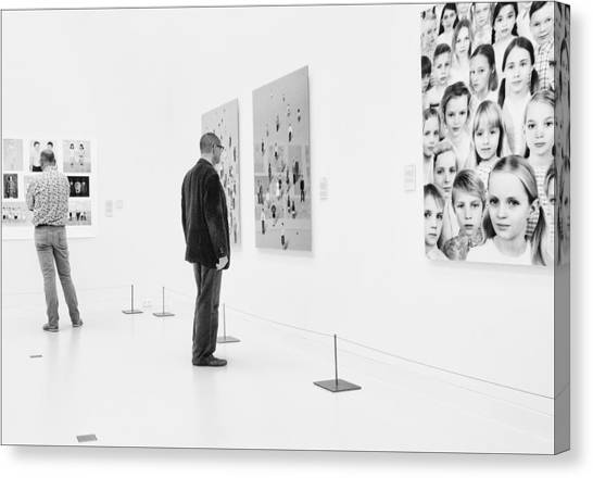 Museums Canvas Print - Faces by Henk Van Maastricht