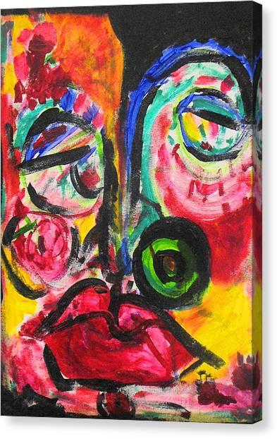 Faces II Canvas Print