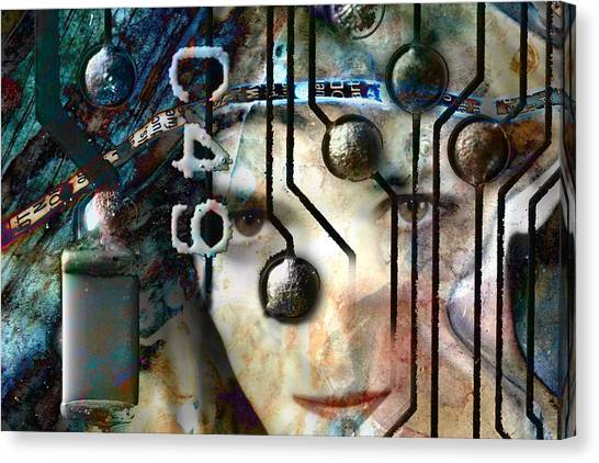 Faces No. 1 Canvas Print