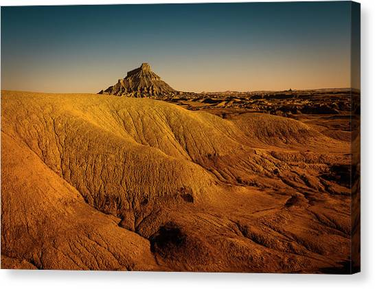 Factory Butte Canvas Print