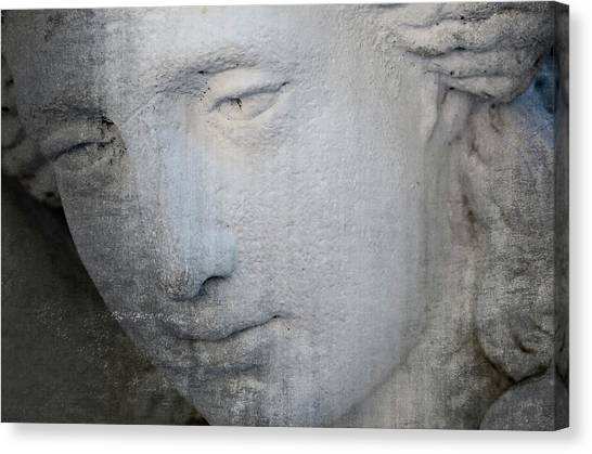 Faded Statue Canvas Print
