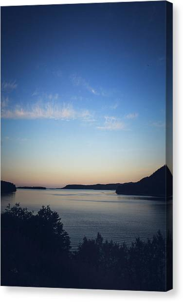 Canvas Print - Fading Light by Jo Jackson