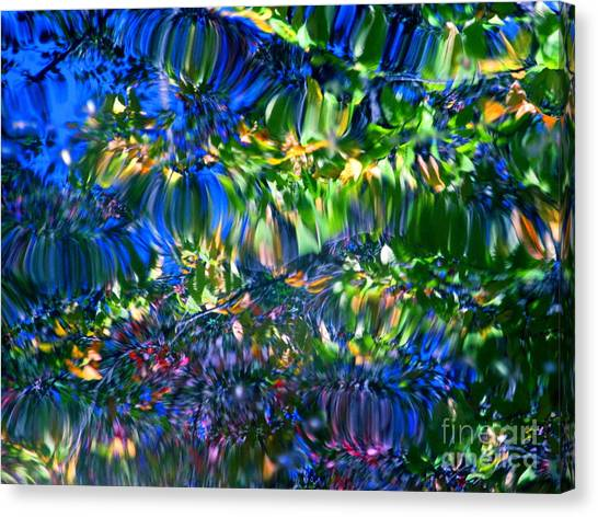 Faerie Frenzy Canvas Print
