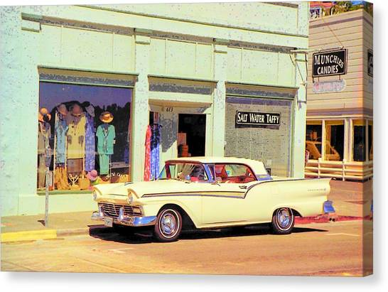 Fairlane 500 1957 Canvas Print