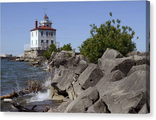 Fairport Harbor Lighthouse Canvas Print
