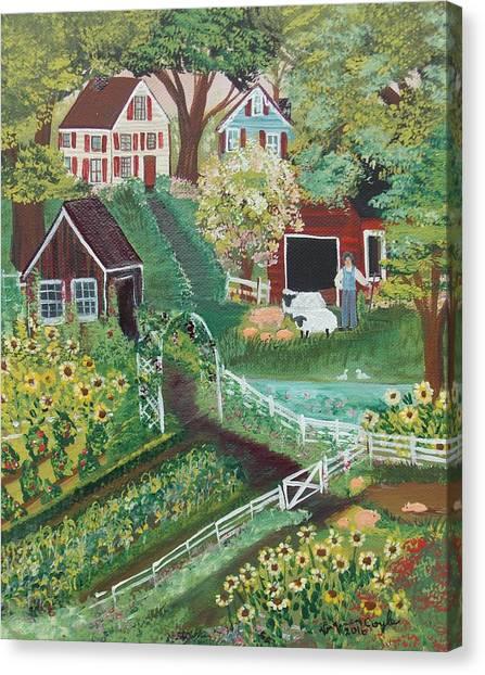 Fairview Farm Canvas Print