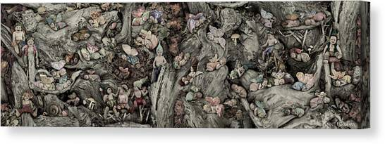 Fairy Canvas Print - Fairy City by Anne Geddes