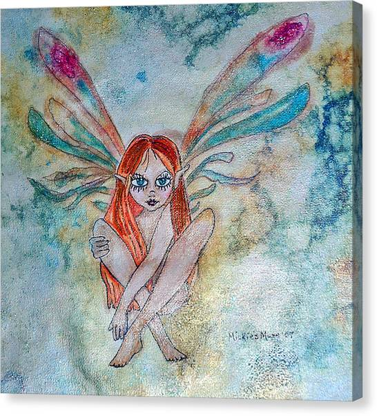 Fairy Dust Canvas Print by Mickie Boothroyd