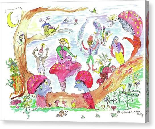 Fairy Glen Canvas Print