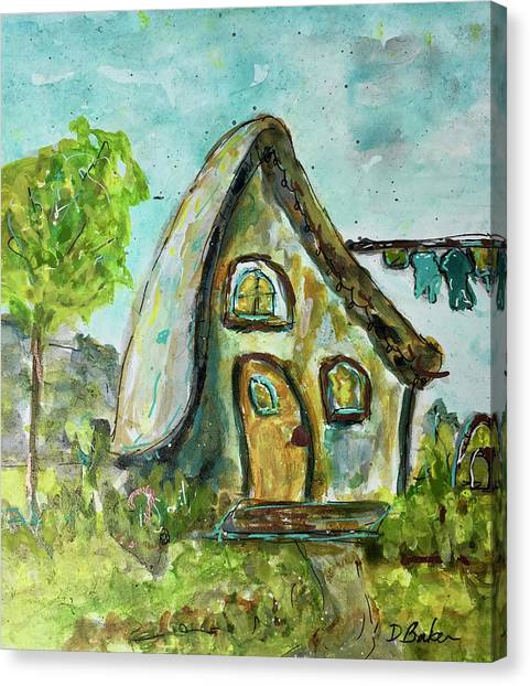 Canvas Print - Fairy Home by Dolores Baker