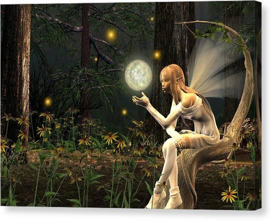 Canvas Print - Fairy Light by Lisa Roy