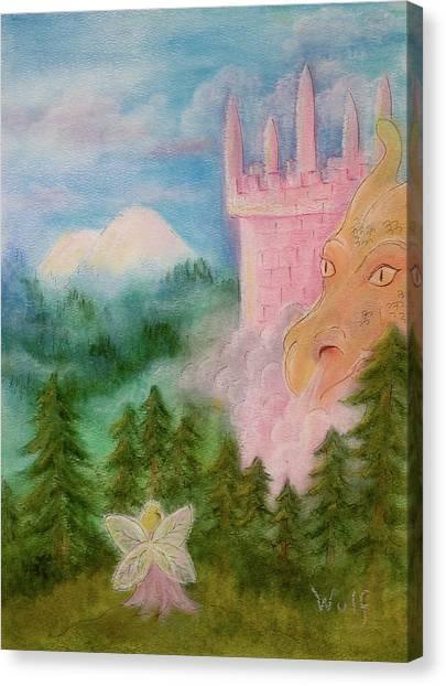 Fairy Sunrise Canvas Print