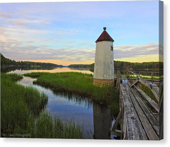 Fairy Tale On The River Canvas Print