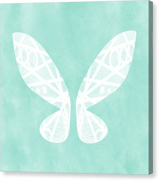 Fairy Canvas Print - Fairy Wings- Art By Linda Woods by Linda Woods