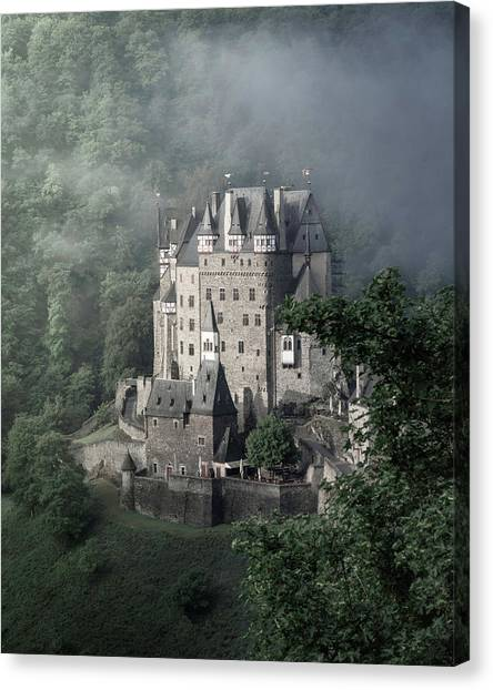 Fairytale Castle In Germany Canvas Print