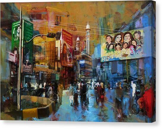 Polo Canvas Print - Faisalabad 1 by Maryam Mughal