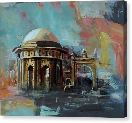 Polo Canvas Print - Faisalabad 7b by Maryam Mughal