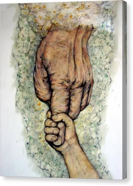 Faith Canvas Print by Edward Ruth