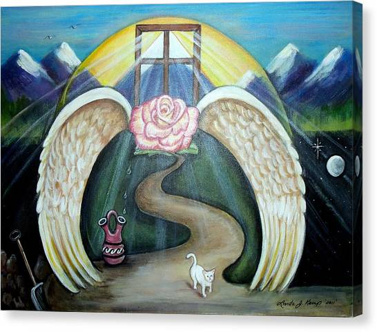 Faith Journey Canvas Print